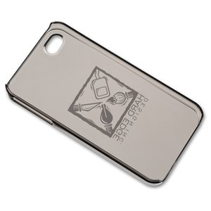 myPhone Hard Case for iPhone 4 - Translucent - 24 hr Image 2 of 3