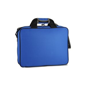 EZ Check Laptop Brief Bag - Polyester Image 1 of 2