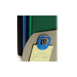 Magnetic Memo Mate Picture Frame - Translucent - Closeout Image 1 of 2
