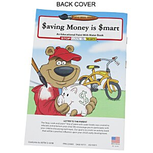 Paint with Water Book - Saving Money is Smart Image 1 of 3