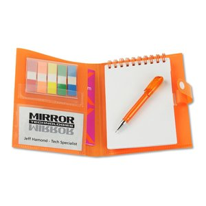 Mini Jotter Notebook Organizer - Closeout Image 2 of 2