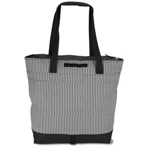 Jumbo Cooler - Houndstooth Image 1 of 5