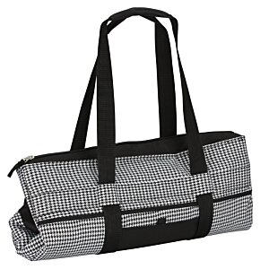 Jumbo Cooler - Houndstooth Image 2 of 5