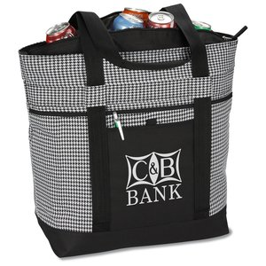 Jumbo Cooler - Houndstooth Image 3 of 5