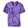 View Extra Image 2 of 2 of Tie-Dye T-Shirt - Tonal Spider - Youth - Screen