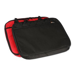 Quilted Laptop Brief - Closeout Image 2 of 3