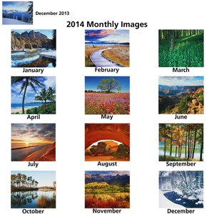 Seasons Across America 2014 Calendar - Closeout Image 1 of 1
