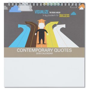 The Power of Words Tent-Style Desk Calendar Image 1 of 5