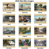 Currier & Ives Calendar - Stapled Image 1 of 1