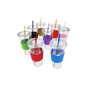 Burby Tumbler with Straw - 24 oz. Image 1 of 1