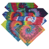 View Extra Image 1 of 1 of Spiral Tie-Dye Bandana
