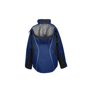 North End Color Block Insulated Jacket - Ladies' Image 1 of 2