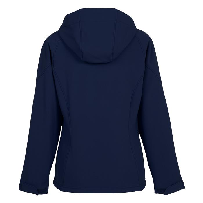 8176c69a901 4imprint.com  North End Hooded Soft Shell Jacket - Ladies  112478-L