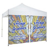 View Extra Image 2 of 2 of Deluxe 10' Event Tent - Middle Zipper Wall - One Sided- FC