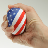 View Image 2 of 2 of Patriotic Round Stress Reliever - 24 hr