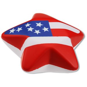 Patriotic Star Stress Reliever Image 1 of 2