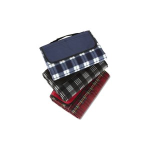 Playful Plaid Picnic Blanket Image 2 of 2