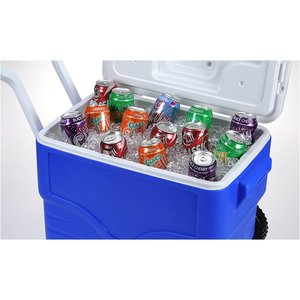 Coleman 40-Quart Wheeled Cooler Image 1 of 2