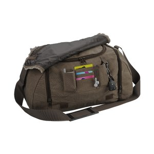 Canvas Duffel - Closeout Image 2 of 2