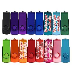 Swing USB Drive - Color - 2GB - 3 Day Image 2 of 2