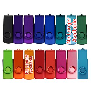 Swing USB Drive - Color - 4GB - 24 hr Image 2 of 2