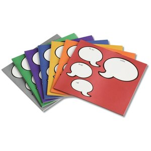 Notepad Mouse Pad - Message Bubbles Image 1 of 1