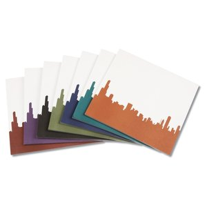 Notepad Mouse Pad - Cityscape Image 2 of 2