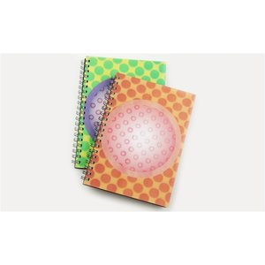 3D Spiral Notebook - Circle - Closeout Image 1 of 2