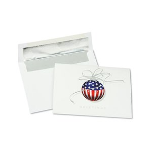 Patriotic Ornament Greeting Card - Image 3 of 3