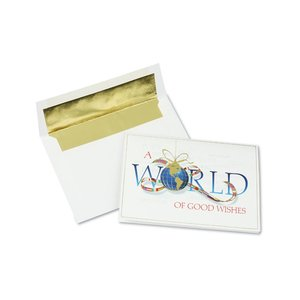 Worldly Good Wishes Greeting Card Image 2 of 3