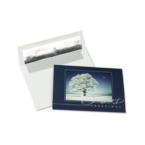 Snow Covered Tree Greeting Card Image 1 of 3