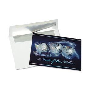 World of Best Wishes Greeting Card Image 3 of 3