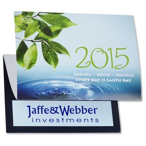 Eco Friendly Calendar Greeting Card
