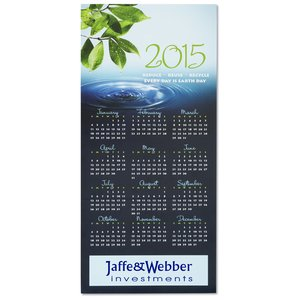 Eco Friendly Calendar Greeting Card Image 2 of 3