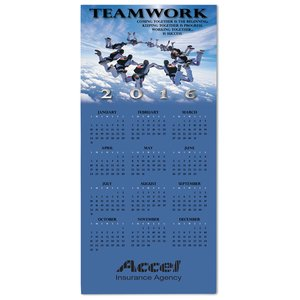 Teamwork Calendar Greeting Card Image 2 of 3