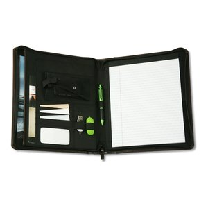 Brixen Zippered Padfolio Image 1 of 1