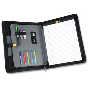 Case Logic Conversion Series Zippered Padfolio - 24 hr Image 1 of 2