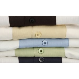 Harriton Two-Tone Bahama Cord Camp Shirt Image 1 of 1