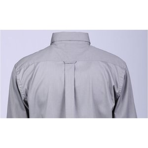 Harriton Twill Shirt with Stain Release - Men's Image 1 of 2