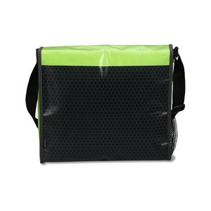 Laminated Messenger Bag - Closeout Image 1 of 2