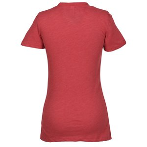 Bella Tri-Blend Deep V-Neck T-Shirt - Ladies' Image 1 of 1