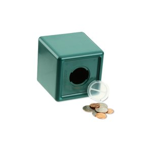 Cash Cube Bank - Opaque Image 1 of 1