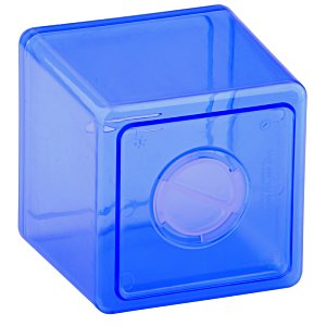 Cash Cube Bank - Translucent Image 1 of 1