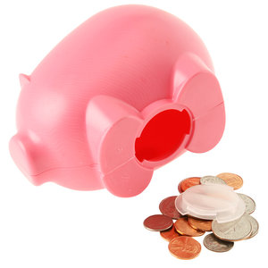 Action Piggy Bank - Opaque Image 1 of 1