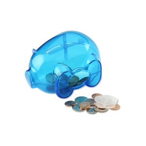 Action Piggy Bank - Translucent Image 2 of 2