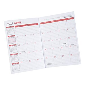 "Dynamic Monthly Planner - 10"" x 7"""