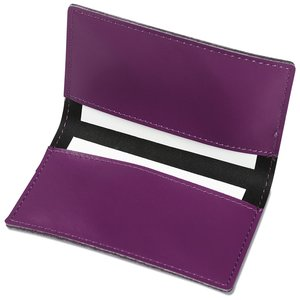 Vibrant Business Card Case - Closeout Image 1 of 2
