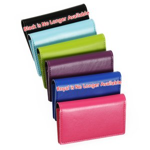 Vibrant Business Card Case - Closeout Image 2 of 2