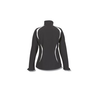 Colorblock Soft Shell Jacket - Ladies' Image 1 of 1