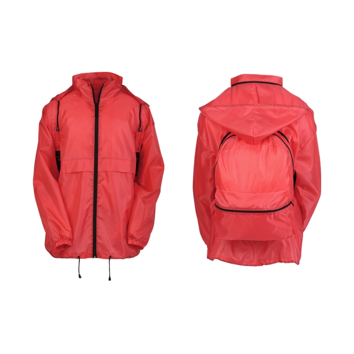All-in-One Backpack Rain Jacket - Closeout Sorry this item no